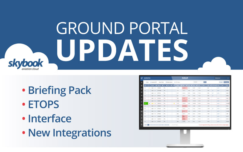 skybook ground portal 1270 release notes