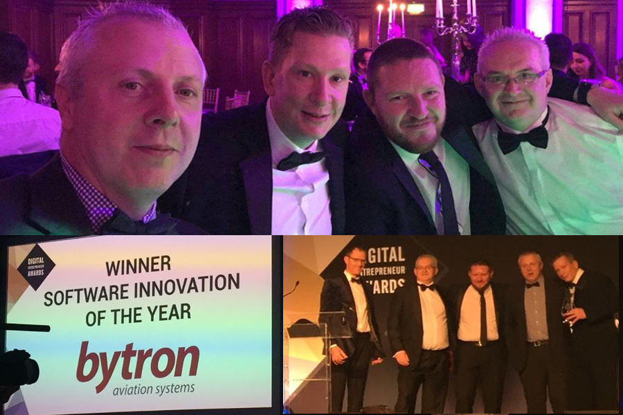 Bytron wins Software Innovation of the year and looking forward to 2018